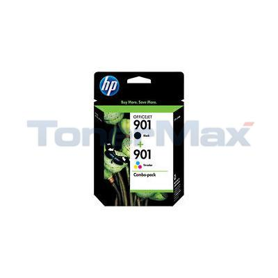 HP 901 INK CARTRIDGE CMYK COMBO PACK